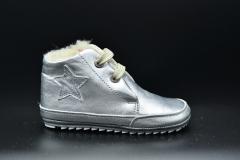 SHOESME-Baby First steps  BP20S057-A  Zilver gevoerd  € 69.95   19tm22