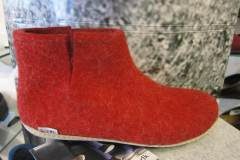 Glerups Low Boot Red Leather 36/47 € 79.95