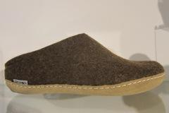 Glerups slipperBruin leatherl 36/47 € 69.95MG_5524